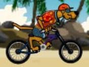 Scooby Doo Bisiklet Seruveni